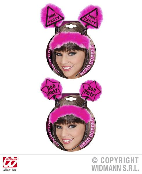 Hen Party Head Boppers 2 Styles Bridal Shower Freedom Party